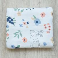 Hoppipollakids Kain Selimut Bamboo Muslin Jumbo Size - Rabbit