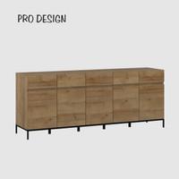 Pro Design Petra Bufet Dengan 5 Pintu 5 Laci