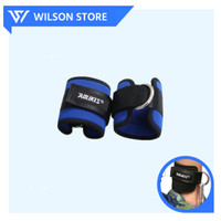 AOLIKES Ankle Strap Wrap Hook Cuff Support Leg Resistance Fitness Gym - KANAN