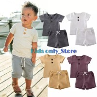 baju rumah anak setelan pendek anak baju anak polos baju harian anak