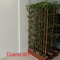 Terlaris Bambu Partisi Kumplit#Bambu Pembatas Ruangan#Bambu Penyekat -
