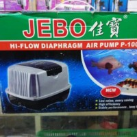Jebo P100 P 100 Pompa udara Aerator aerasi Air Pump kolam Aquarium