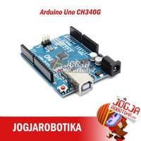 Arduino Uno R3 ATmega328P SMD CH340 CH340G IC Tanpa Kabel Data