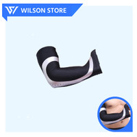 AOLIKES 7945 Arm Warmer Arm Sleeve Elbow Support Wrap Pad Compression - Hitam, M