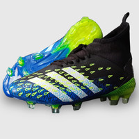 Compact sepatu pria adidas predator bola terbaru - Biru, 40