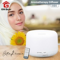 Aromatherapy Ultrasonic Aroma Difusser Colorful LED Light Remote 500ml