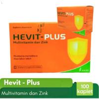Hevit Plus - Multivitamin Zinc - Daya Tahan Tubuh - Kalbe