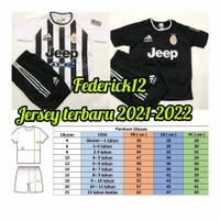 Bisa COD/Stelan baju bola anak-anak Juve/termurah/Jersey terbaru