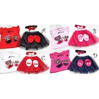 Baju Setelan anak cewek perempuan fashion pergi jalan H258 babybell