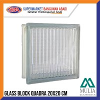 GLASSBLOCK / GLASSBLOK / GLASS BLOCK MULIA QUADRA 95001