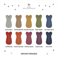 Little Palmerhaus instant swaddle / bedong instant