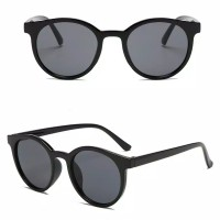 Kacamata Korean Fashion Untuk Wanita Dan Pria Terbaru / Aksesoris Fash - Kacmta AV Hitam