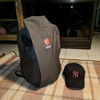 Tas MSI Air Backpack Gaming Laptop Original Second Bonus MLB Hat