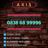 Nomor cantik exclusif 9999 special Axis 11 digit Reguler 4G LTE