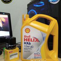 Oli Shell Helix HX6 SAE 10W-40 4L Original