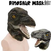 Topeng Dinosaurus Raptor/Trex Mask Latex HewanBinatangAnimal Halloween
