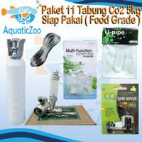 Paket 11 Tabung CO2 besi 5kg besi full isi - Aquascape - CO2 supplies