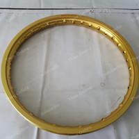 Velg Jari Aluminium Rossi Master W shape Gold Emas 140 ring 17 bekas
