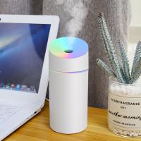 Humidifier Diffuser Aroma Terapi Pelembab Udara Lampu Tidur RGB