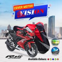 Cover motor sport Ninja/Megapro / NINJA /CBR /R15 /Vixion sarung motor - Merah