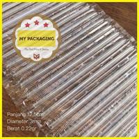 sedotan aqua individu renceng straw wrapping sedotan plastik steril is