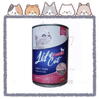Life Cat Kitten Tuna 400gram - Makanan Kucing Basah - Wet Food