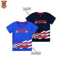 MacBear Baju Anak Laki-laki Kaos Car Collection Racing Car