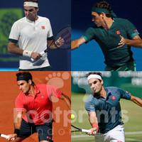 Uniqlo Roger Federer Tennis Polo Shirt Baju Tenis RF Limited Edition