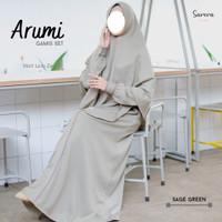 Sarera Hijab Arumi Set Gamis Terbaru Setelan Syari