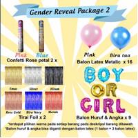 Paket Baby Gender Reveal 2