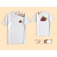 Kaos Baju Tshirt Premium CAMOE Grape anggur