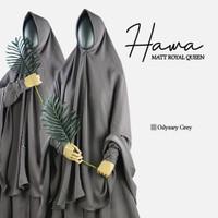 Khimar Basic PED bahan Royal Queen : HAWA