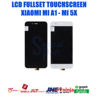 LCD XIAOMI MI A1 / MI 5X FULLSET TOUCHSCREEN OEM CONTRAS MAIN AAA - Putih