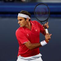 Baju Tenis Uniqlo Roger Federer Red Tennis Polo Shirt RF Limited - S