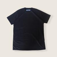 T Shirt Supima Cotton Black / Hitam kaos premium anti bakteri
