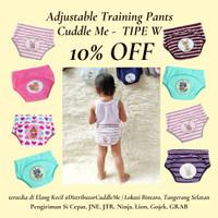 CuddleMe Training Pants Popok Kain Bayi Love Rainbow size S/M