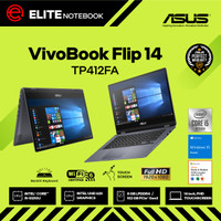 ASUS VivoBook Flip TP412FA i5-10210U 8GB 512GB 14 FHD W10 TOUCH OHS