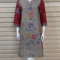 baju batik wanita dress tunik modern batik cap encim