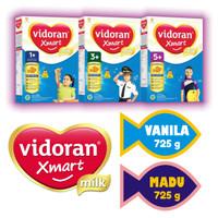 Vidoran Xmart 1+ 3+ Madu Vanila Susu Pertumbuhan Packing Aman