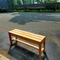 bangku panjang/kursi panjang kayu jati Belanda