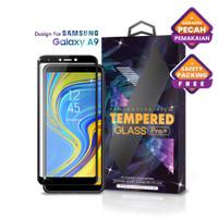 Tempered Glass SAMSUNG Galaxy A9 Full Cover Black -Premium Glass Pro