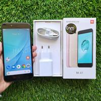 Handphone xiaomi mi a1 4/64gb fullset no hs second seken bekas murah