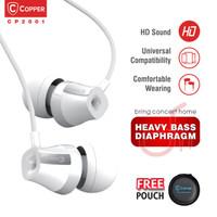 COPPER HEAVY BASS CP2001 Series Earphone / Headset / Handsfree