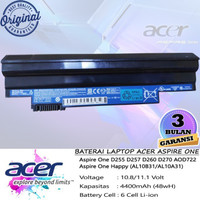 Baterai Original Acer Aspire One D255 D260 D265 D270 D275 522 722
