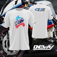 T-shirt Kaos Bmw Motorrad GS Adventure