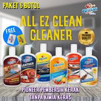 PAKET ALL EZCLEAN CLEANER PEMBERSIH KERAK KAMAR MANDI, DAPUR, RUMAH