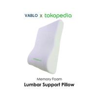 Vablo X Tokopedia Lumbar Support Pillow exclusive item
