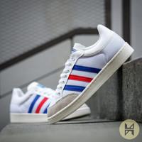 Sepatu Adidas Americana Low White Red Blue Original