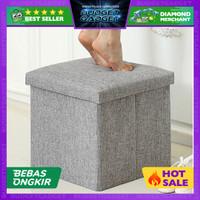 Sofa Bangku Kotak Penyimpanan Barang - 30x30x30cm