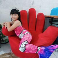 TERMURAH kostum mermaid/mermed/duyung anak baju renang anak